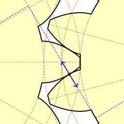 interlocking cogwheels Monday 10 April 2017